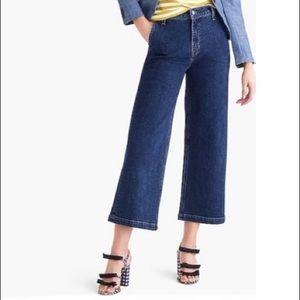 J. CREW Wide Leg Jeans - NWT